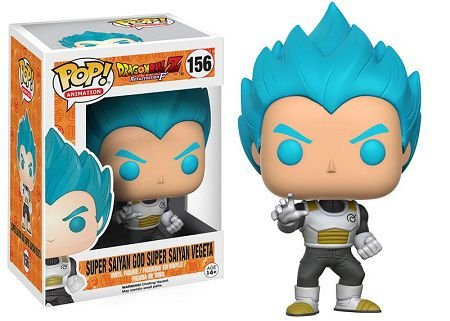 Bonecos Funko Pop Brasil - Dragonball Z - Super Saiyan God Vegeta