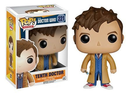 Bonecos Funko Pop Brasil - Doctor Who - Dr #10