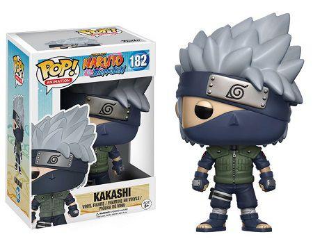 Bonecos Funko Pop Brasil - Naruto Shippuden - Kakashi