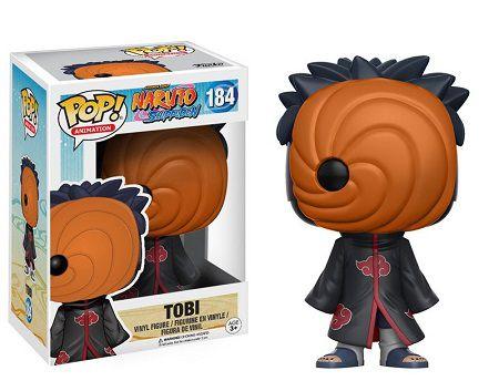 Bonecos Funko Pop Brasil - Naruto Shippuden - Tobi