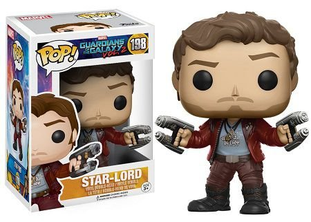 Bonecos Funko Pop Brasil - Marvel - Guardians of the Galaxy 2 - Star-Lord