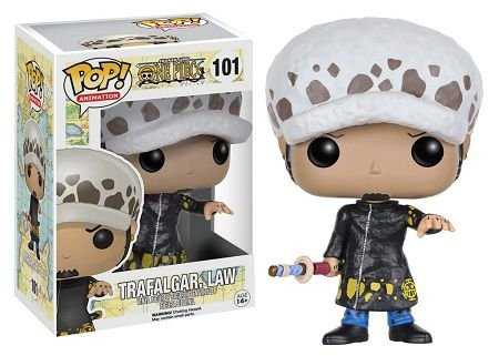 Bonecos Funko Pop Brasil - One Piece - Trafalgar Law