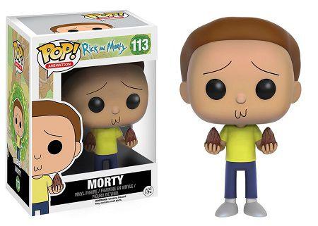 Bonecos Funko Pop Brasil - Rick and Morty - Morty