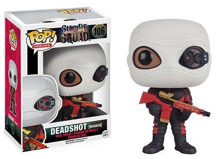 Bonecos Funko Pop Brasil - DC Comics - Suicide Squad - Deadshot Masked