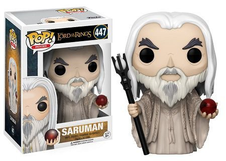 Bonecos Funko Pop Brasil - The Lord of the Rings - Saruman