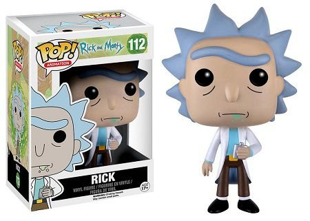 Bonecos Funko Pop Brasil - Rick and Morty - Rick