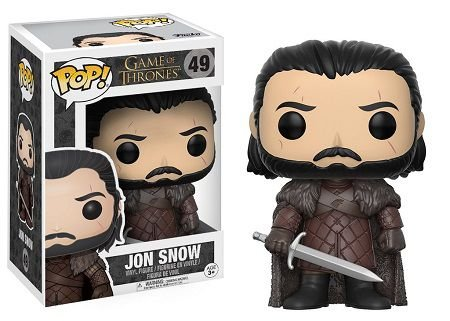 Bonecos Funko Pop Brasil - Game of Thrones - Jon Snow 49