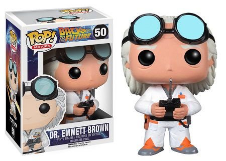 Bonecos Funko Pop Brasil - Back to The Future - Dr. Emmet Brown