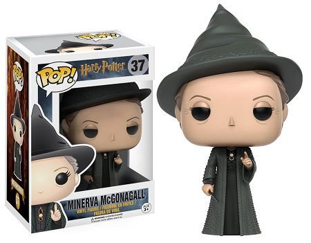 Bonecos Funko Pop Brasil - Harry Potter - Professor McGonagall