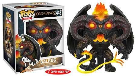 Bonecos Funko Pop Brasil - The Lord of the Rings - Balrog