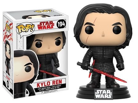 Bonecos Funko Pop Brasil - Star Wars - The Last Jedi - Kylo Ren
