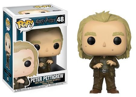 Bonecos Funko Pop Brasil - Harry Potter - Peter Pettigrew