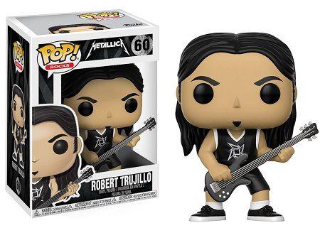 Bonecos Funko Pop Brasil - Metallica - Robert Trujillo