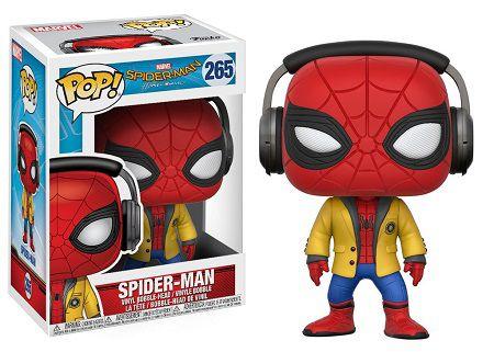 Bonecos Funko Pop Brasil - Marvel - Spider-Man Homecoming - Spider-Man with Headphones