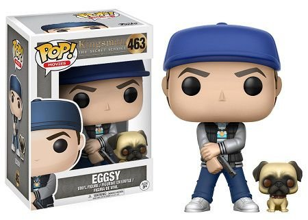 Bonecos Funko Pop Brasil - Kingsman - Eggsy with JB