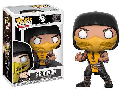 Bonecos Funko Pop Brasil - Mortal Kombat - Scorpion
