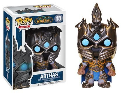 Bonecos Funko Pop Brasil - World of Warcraft - Arthas