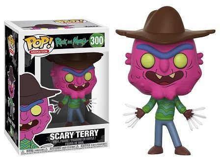 Bonecos Funko Pop Brasil - Rick and Morty - Scary Terry