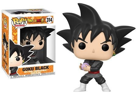 Bonecos Funko Pop Brasil - Dragonball Super - Goku Black