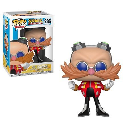 Bonecos Funko Pop Brasil - Sonic - Dr. Eggman