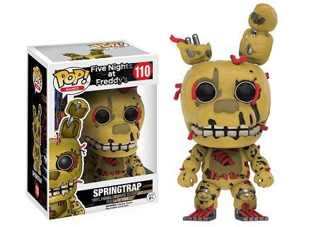 Bonecos Funko Pop Brasil - Five Nights at Freddy's - Springtrap