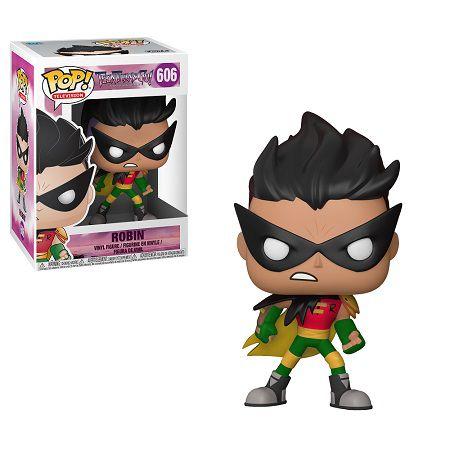 Bonecos Funko Pop Brasil - Teen Titans Go! - Robin