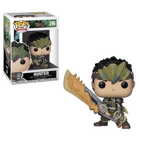 Bonecos Funko Pop Brasil - Monster Hunter - Hunter