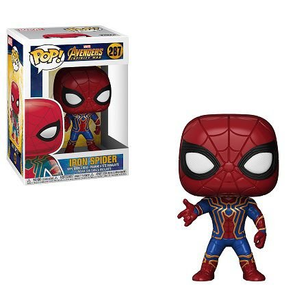 Bonecos Funko Pop Brasil - Marvel - Infinity War - Iron Spider
