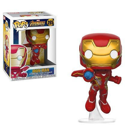 Bonecos Funko Pop Brasil - Marvel - Infinity War - Iron Man