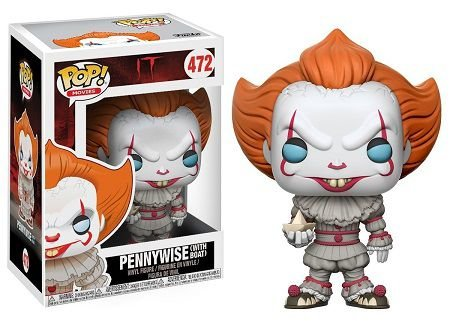 Bonecos Funko Pop Brasil - IT - Pennywise with Boat