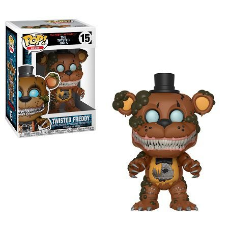 Bonecos Funko Pop Brasil - Five Nights at Freddy's - Twisted Freddy