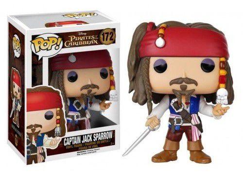 Bonecos Funko Pop Brasil - Disney - Jack Sparrow