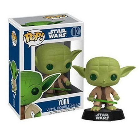 Bonecos Funko Pop Brasil - Star Wars - Yoda