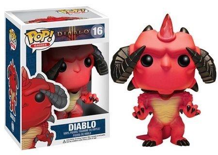 Bonecos Funko Pop Brasil - Diablo III - Diablo