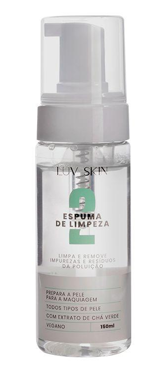 Espuma de Limpeza Luv Skin
