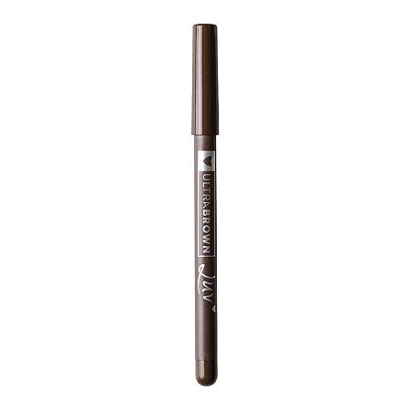 Lapis Delineador para Olhos Ultrabrown a Prova D'Agua  Luv Beauty