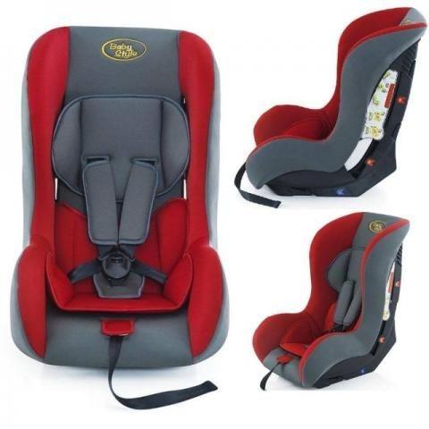 Cadeira Cadeirinha Auto Poltrona Carro Bebe 0 A 25 Kg ! VERMELHA