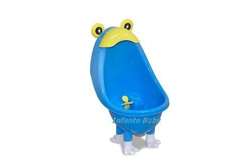 Mictório Infantil Portátil Bebê - Azul