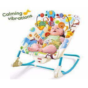 Cadeira Cadeirinha Bebê Descanso Vibratória Musical  - Letras