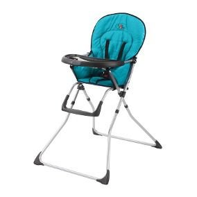 Cadeira Alimentação Bebê Cangoo Baby Style -  TURQUESA