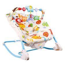 Cadeira Bebê Descanso Vibratória Musical Balanço  Letras - Baby Style