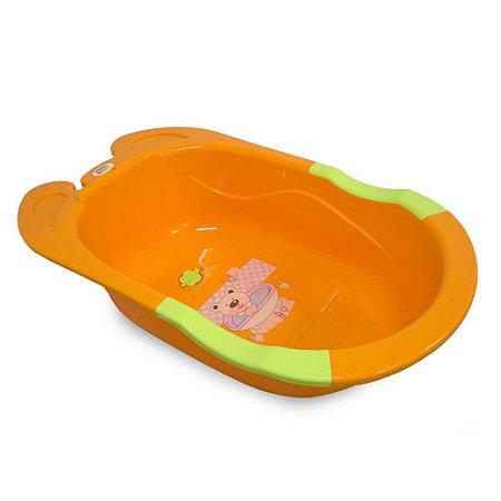 Banheira para Bebê Baby Style Frog - Laranja