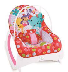 Cadeira Bebê Descanso Musical Vibratória Safari Color Baby - Rosa