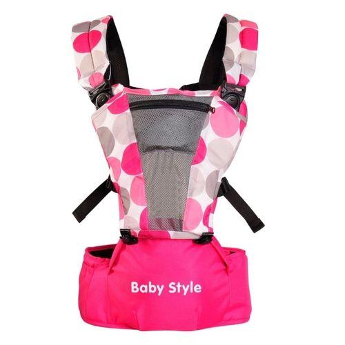 Canguru Hipseat Rosa - Baby Style