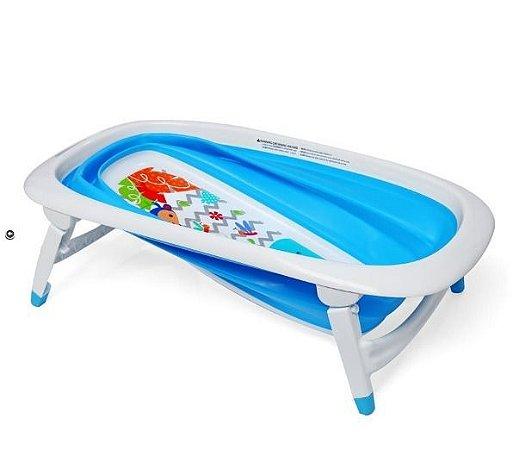 Banheira para Bebê Best Color Baby Azul