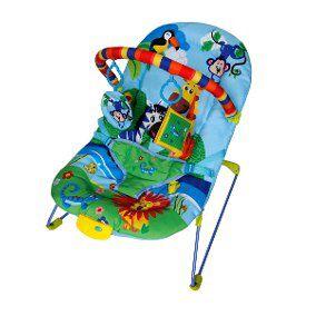 Cadeira Bebê Descanso Vibratória Musical Ballagio - Azul