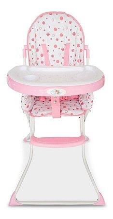 Cadeira De Alimentação Flash Rosa - Baby Style