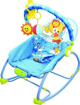 Cadeira Bebê Descanso Vibratória Musical Balanço  Verão - Baby Style