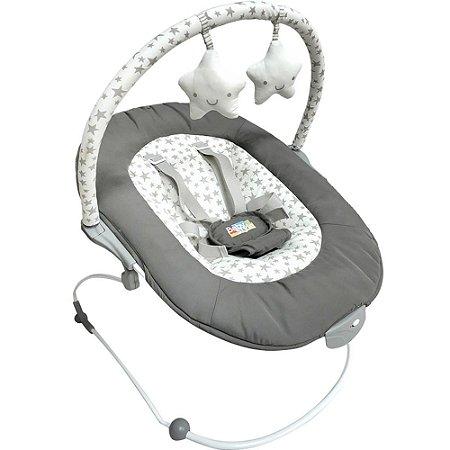 Cadeirinha de Descanso Vibratória Poly Estrela - Baby Style