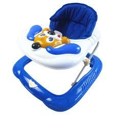 Andador Bebê Infantil Musical Bichos Cachorro Azul  - Baby Style